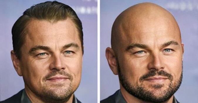 Jak wyglądaliby celebryci bez włosów