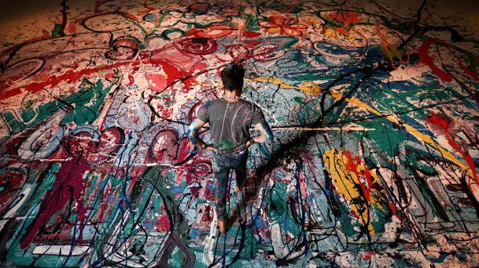 Największy na świecie obraz na płótnie sprzedany na aukcji w Dubaju za 62 miliony dolarów