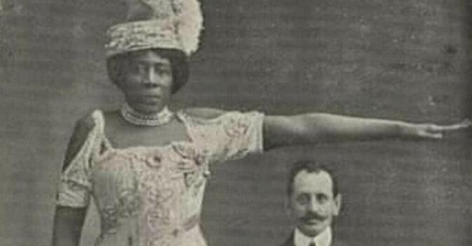Historia Madame Abomy: gigantycznej kobiety, która swoim wzrostem podbiła świat w XIX wieku