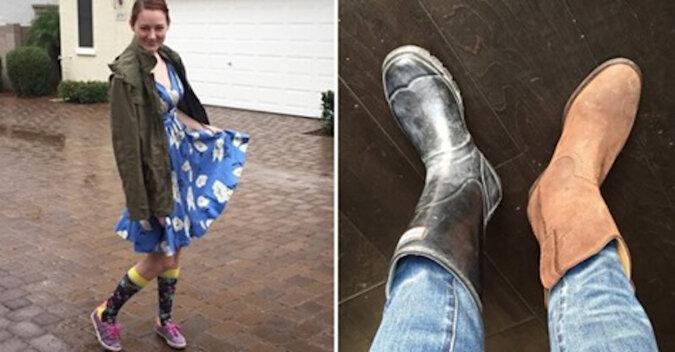 Eksperyment: mama przez tydzień pozwalała swojemu 3-letniemu synowi wybierać jej ubrania