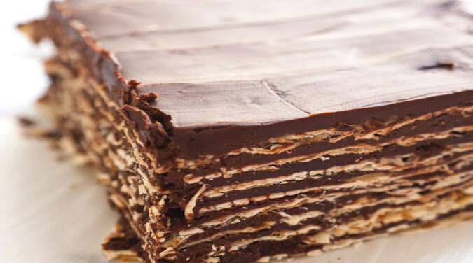 Prosty tort czekoladowy. Przygotowuję się bardzo szybko