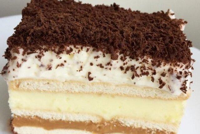 3 bit. Ciasto bez pieczenia. Smaczne i łatwe do przygotowania