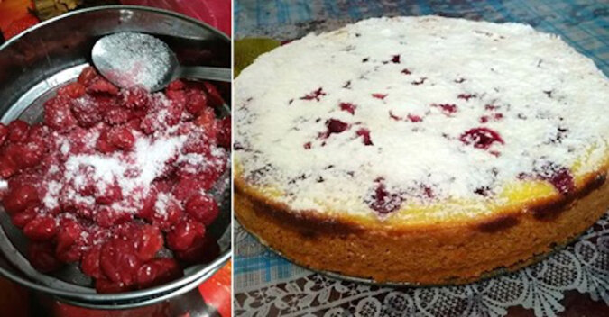 Przepis na ciasto wiśniowe z nadzieniem. Pycha