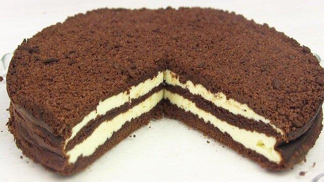 Sernik. Ekspresowa w przygotowaniu wersja sernika królewskiego, bez chłodzenia ciasta, bez tarcia