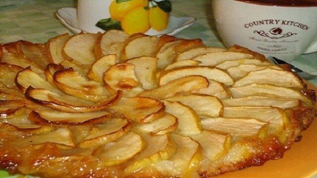 """Francuskie ciasto jabłkowe """"Taten"""""""