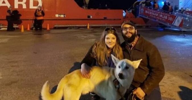Właściciele wszędzie szukali psa, a on uciekł do innego kraju