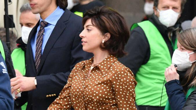 Zdjęcie dnia: nierozpoznawalna Salma Hayek na planie House of Gucci w Rzymie