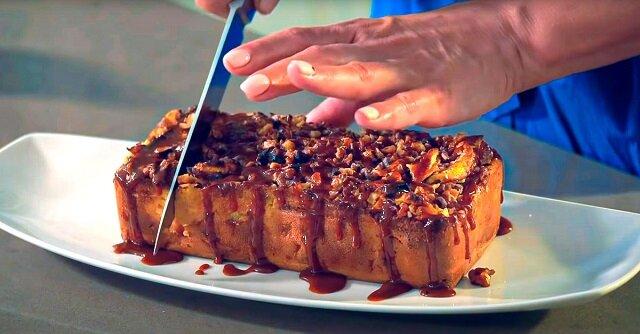 Przepis na włosko-francuskie ciasto jabłkowe. Lekkie i pyszne