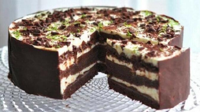 Tort czekoladowo-limonkowy. Pycha