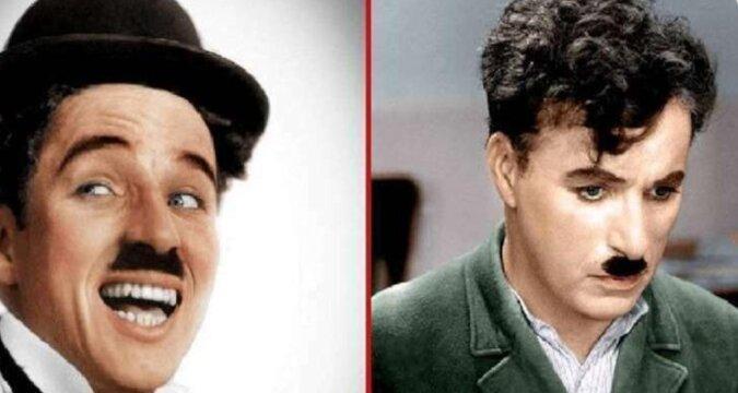 """""""Kręcone włosy jak u dziadka"""". Wnuk Charliego Chaplina jest jego kopią"""