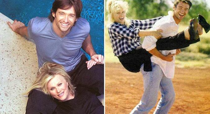 Żona Hugh Jackmana jest 13 lat starsza od niego: jak wyglądają ona i dzieci