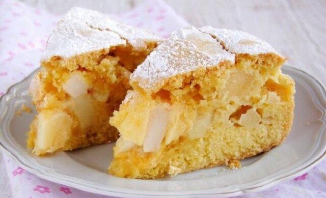 Ciasto maślane z jabłkami. Szybkie i smaczne