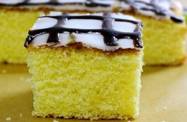 Puszyste ciasto cytrynowe. Świetne, wilgotne do kawy lub herbaty