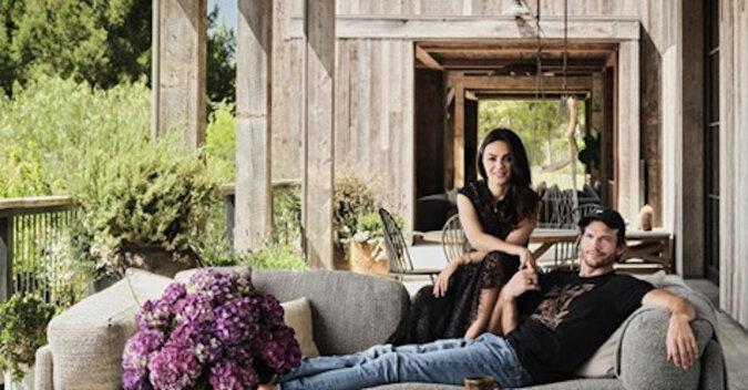 Jak wygląda dom Mili Kunis i Ashtona Kutchera?