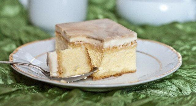 """Ciasto """"królewski marmur"""" czyli ulepszona węgierska watruszka"""