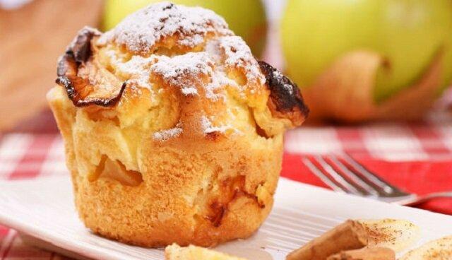 Przepis na łatwe i zdrowe babeczki jabłkowe
