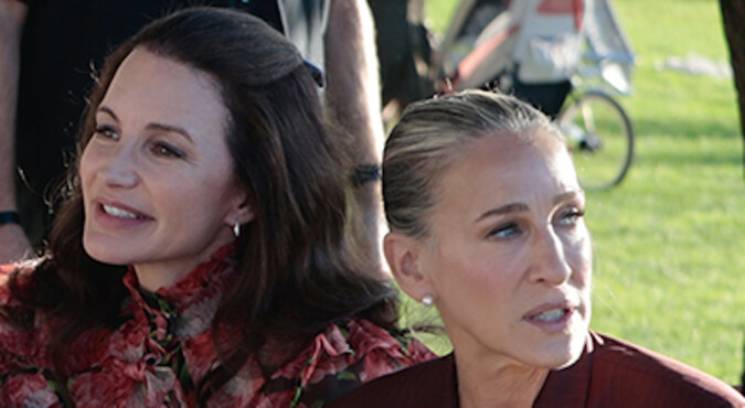 """Sarah Jessica Parker, Cynthia Nixon i Christine Davis w kontynuacji serialu """"Seks w wielkim mieście"""": świeże zdjęcie"""