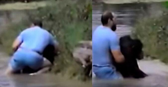 Mężczyzna rzucił się do wody, aby uratować małpę. Pracownicy zoo odmówili pomocy tonącemu zwierzęciu