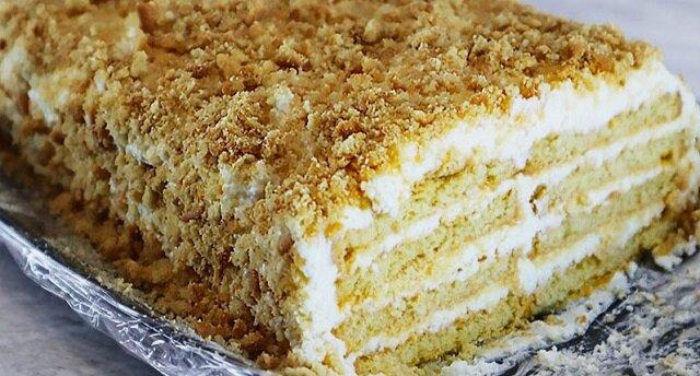 Pyszne ciasto z niesamowitym kremem bez pieczenia