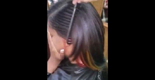 Nie wiem, jak fryzjerka uzyskała ten efekt, ale ja też o to poproszę