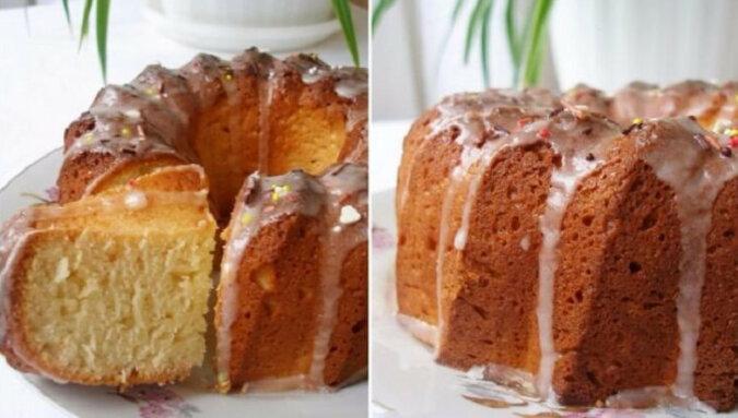 Delikatne i puszyste ciasto twarogowe. Pycha