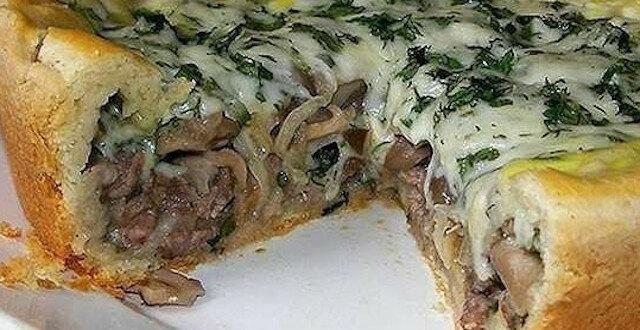 Ciasto mięsne z grzybami - oczaruje od pierwszego kęsa
