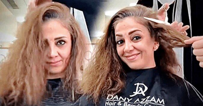 45-letnia kobieta zdecydowała się na krótką, nowoczesną fryzurę. W rezultacie ta fryzura odmłodziła ją przynajmniej o 10 lat
