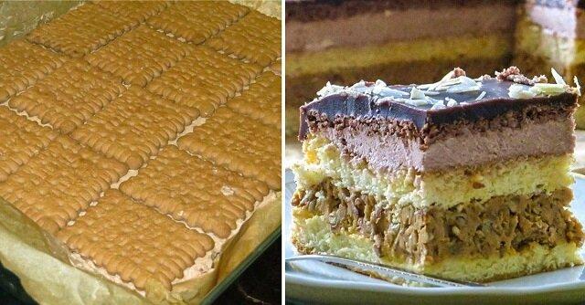 Przepis na tort z gotowanym mlekiem skondensowanym
