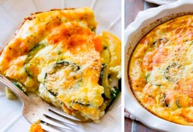 Cukinia z jajkiem i czosnkiem – niesamowite śniadanie