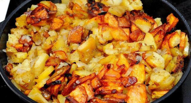 Jak prawidłowo smażyć ziemniaki