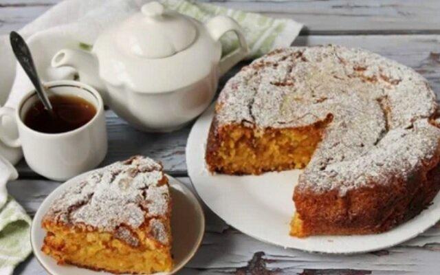 Owsiane ciasto marchewkowe