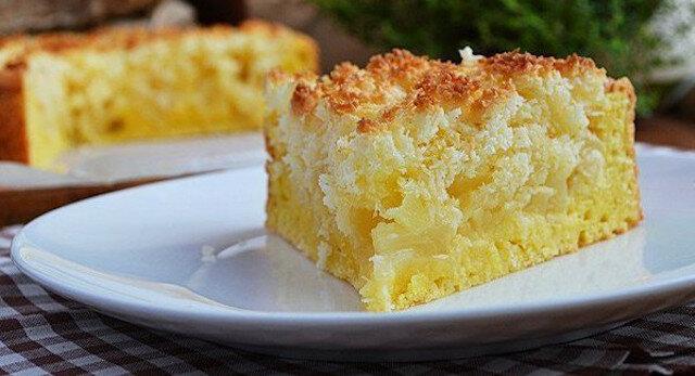 Najbardziej pyszne ciasto twarogowe z jabłkami i karmelem kokosowym