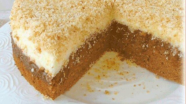 Trociny - popularne niemieckie ciasto z niezwykle pysznym kremem kokosowym
