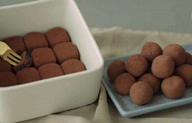 Najłatwiejszy przepis na przygotowanie czekoladowych trufli z dwóch składników
