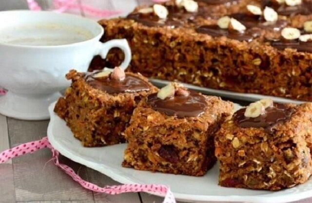 Super zdrowe ciasto wysokobłonnikowe. Zdrowsza wersja słodyczy