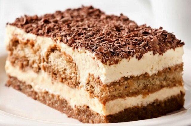 Ciasto kawowe bez pieczenia. Jedno z najlepszych ciast bez pieczenia, które w jadłam