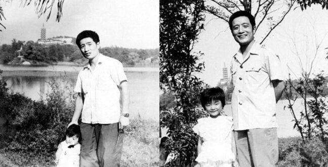Mężczyzna z Chin przez 40 lat fotografował się z córką w jednym i tym samym miejscu
