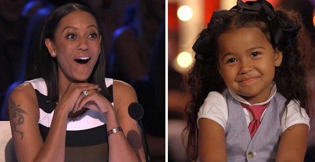 Gdy 5-latka zaczęła śpiewać jurorzy zamarli w zachwycie. Publiczność bila jej brawa na stojąco. Zobacz jej występ. Wideo
