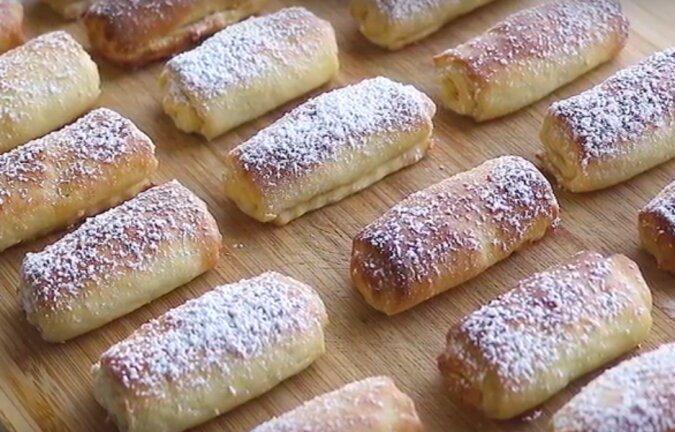 Domowe ciasteczka serowe z orzechami. Pycha