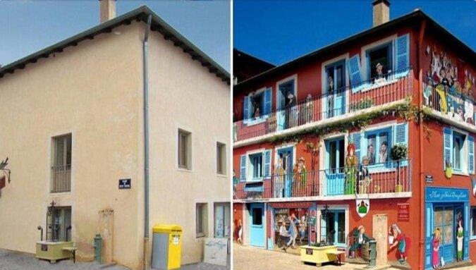 Francuz wyszukuje nudne domy i zamienia je w prawdziwe atrakcje