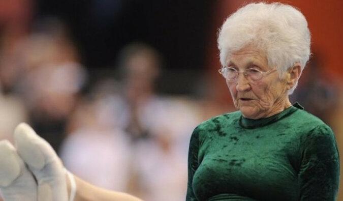 W wieku 86 lat Johanna Quaas brała udział w zawodach gimnastycznych. Zobacz, co się z nią stało po 9 latach, wkrótce skończy 95 lat