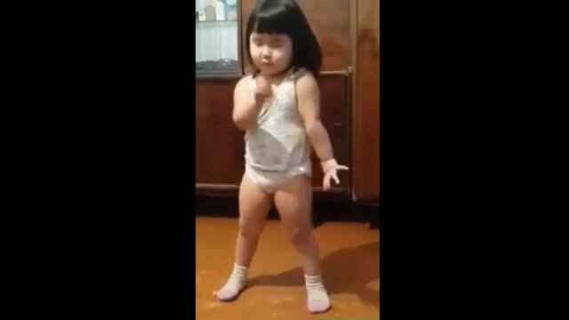 Mała dziewczynka pokazała całemu światu, jak tańczyć Papito