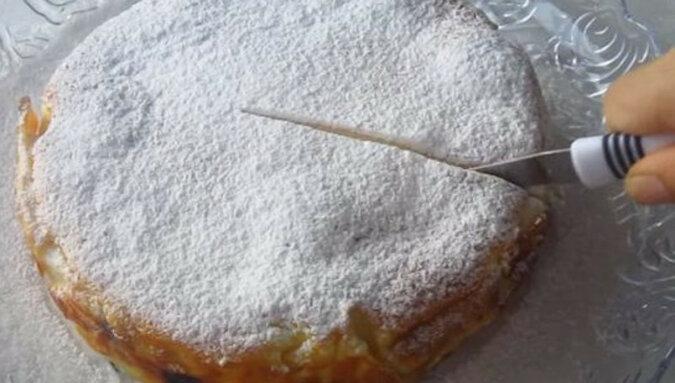 """Piękny i bardzo smaczny tort """"Koronka"""""""