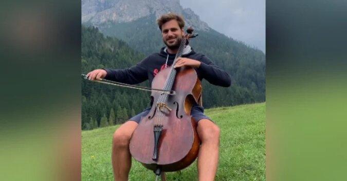 Utalentowany wiolonczelista oszałamia fanów cudownym coverem klasycznego utworu miłosnego. Zobacz