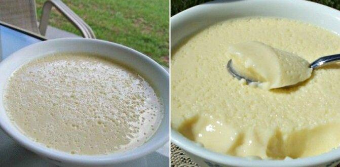Pyszny kremowo-powietrzny deser. Jego przygotowanie zajmie tylko 5 minut