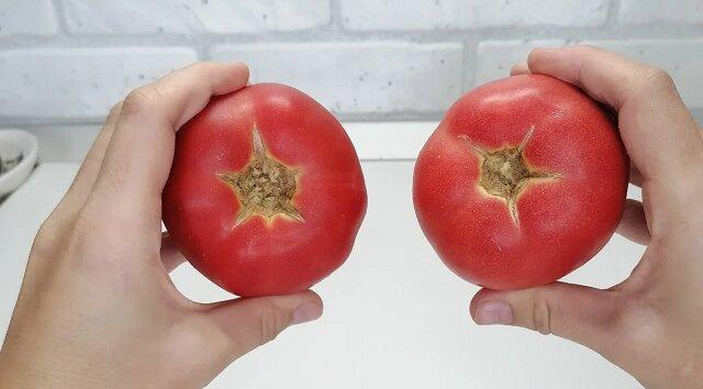 Sposób na marynowanie pomidorów na talerzu 10 minut przed podaniem. Bez użycia puszek lub torebek