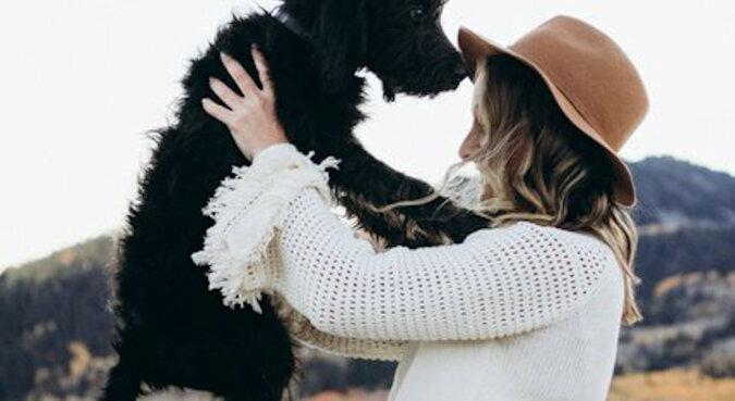Dziewczyna szukała w schronisku zastępstwa dla zaginionego psa, ale znalazła niesamowitą niespodziankę