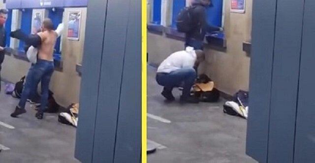 Mężczyzna o dobrym sercu oddał koszulę psu, który trząsł się z zimna