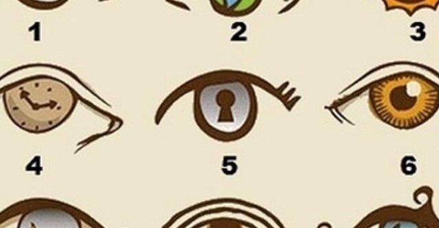 Oko, które wybierzesz, mówi bardzo dużo o Twojej osobowości. Przyjrzyj się dokładnie obrazkowi