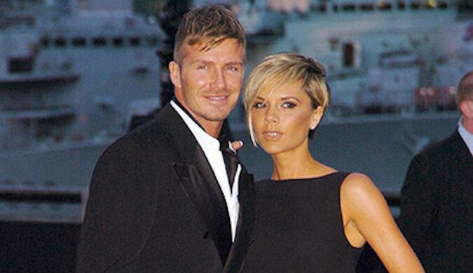 David Beckham z synami Romeo i Cruzem zafarbowali włosy, ale Victoria Beckham tego nie doceniła